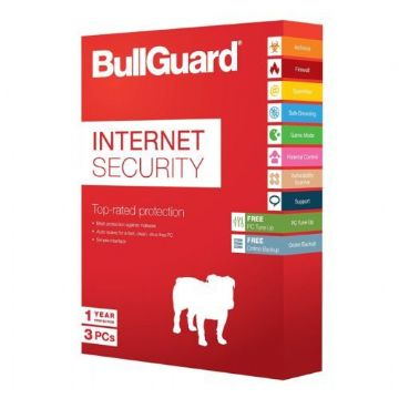 Bullguard Internet Security 2018 Soft Box, 3 User (25 Pack)
